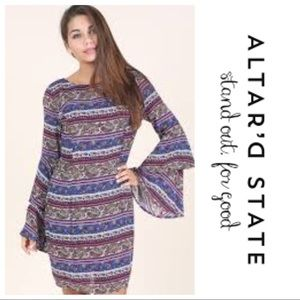 Altar'd State Double Take Dress